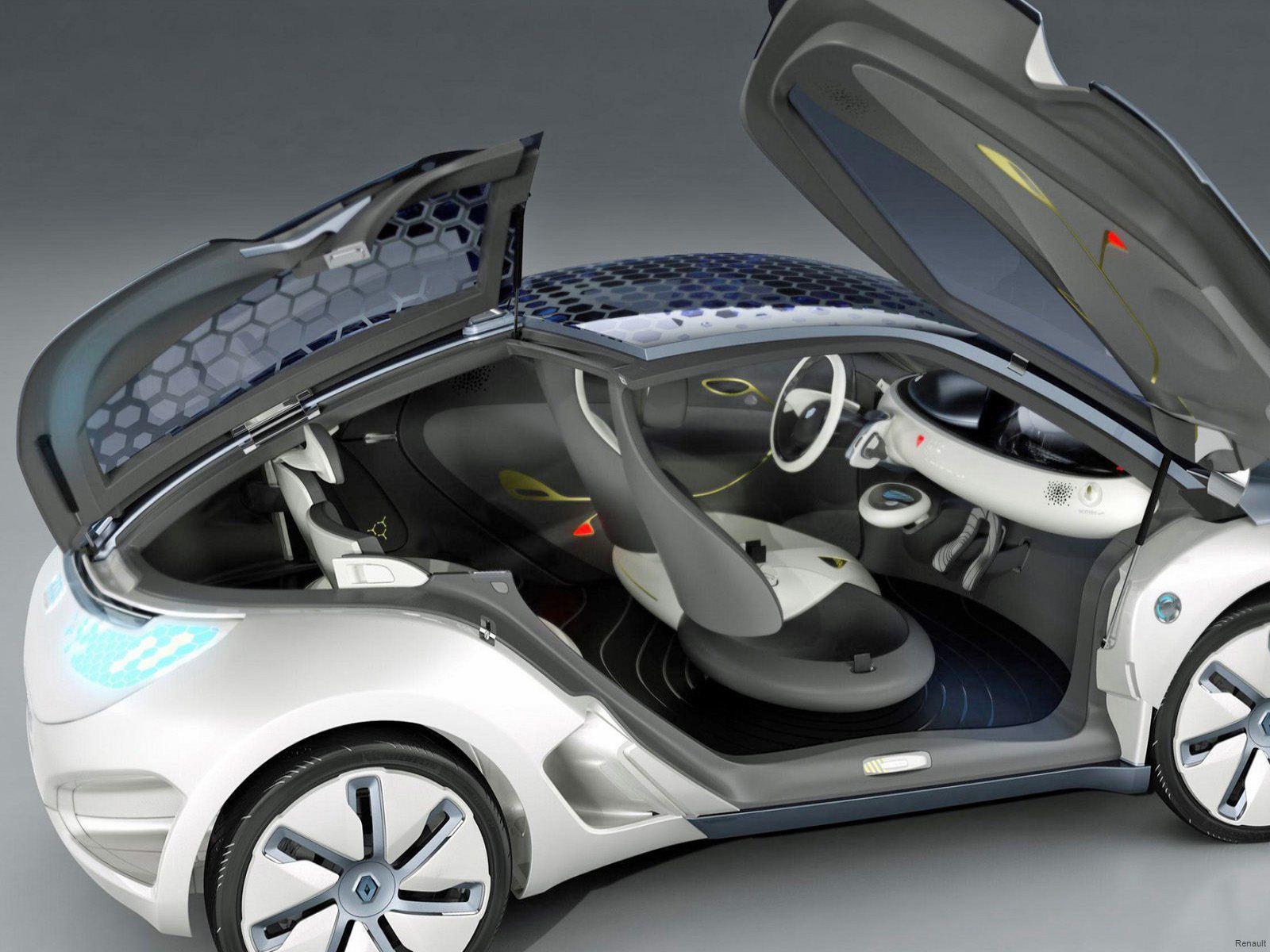 Zoe Concept Door Arrangement (Image: Renault)