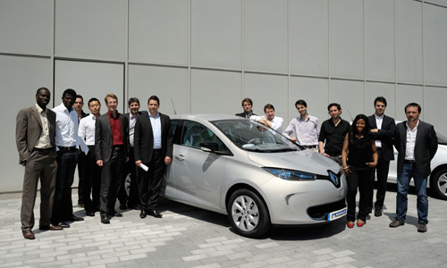 Zoe R-Link Start-Ups (Photo: Renault)