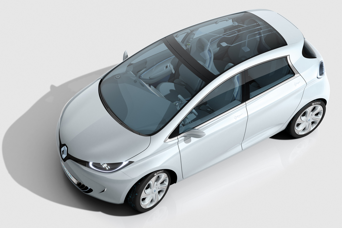 ZOE Preview (Image: Renault)