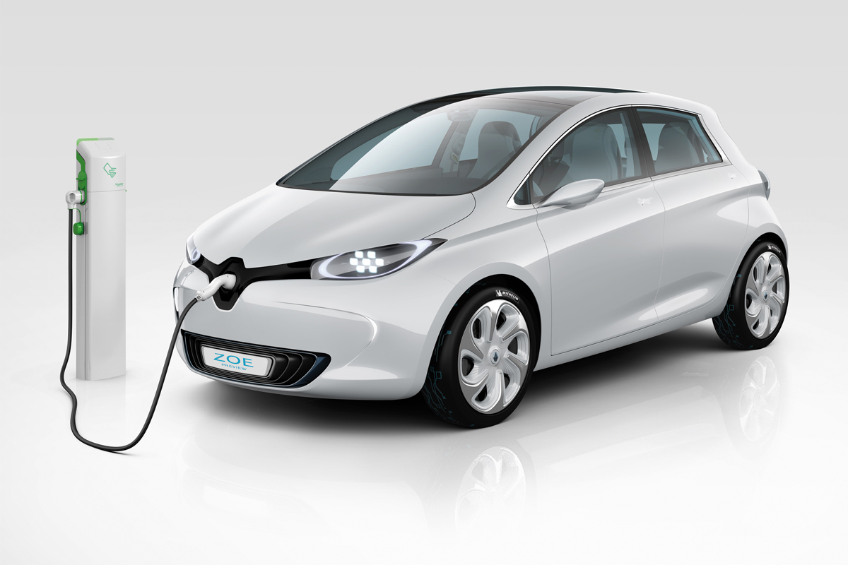ZOE Preview on Fast Charge (Image: Renault)