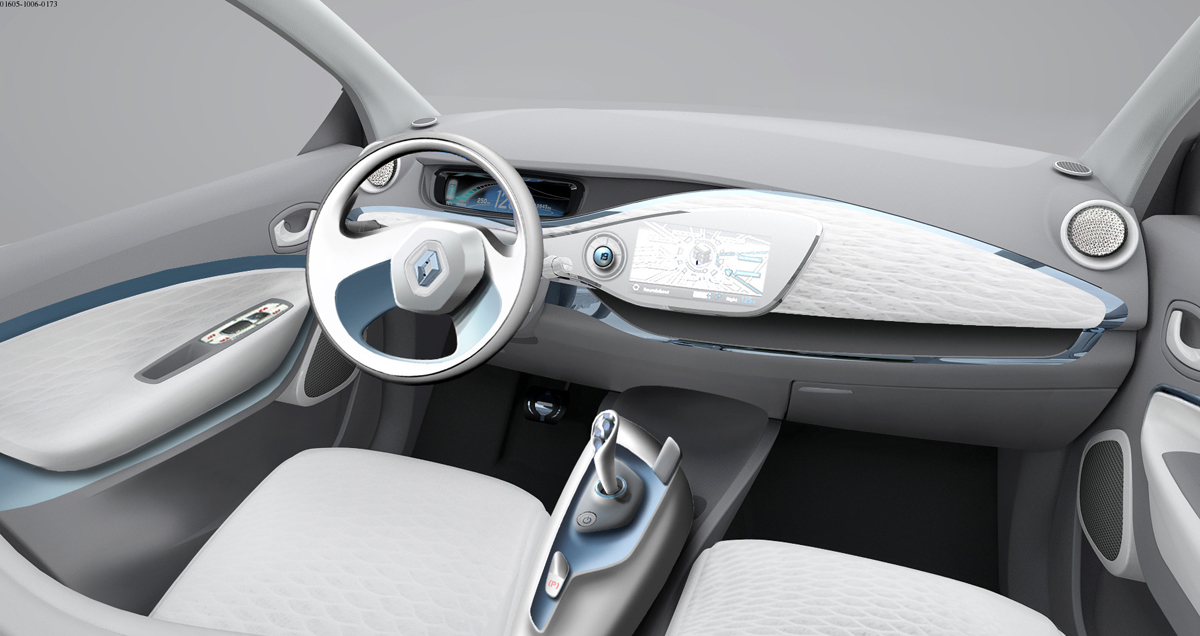 ZOE Preview Interior (Image: Renault)