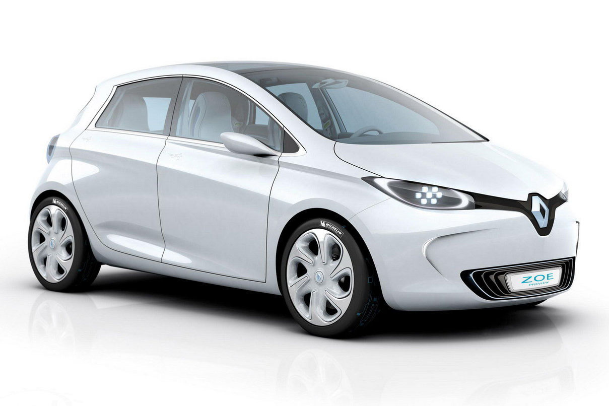 Zoe Preview My Renault Zoe Electric Car