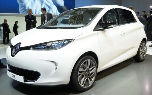 Zoe at Paris Motor Show (Photo: AutoNews.com)
