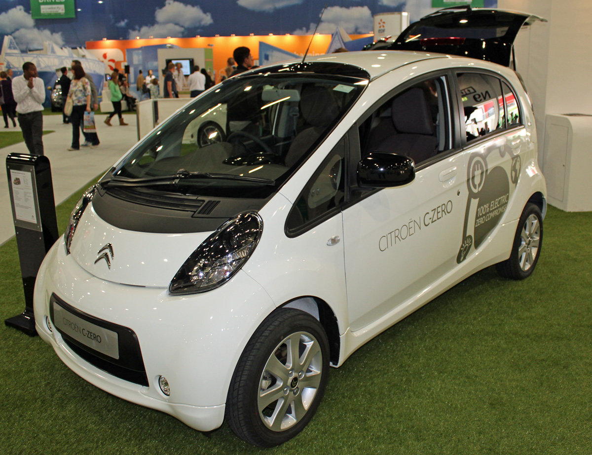 Citroen C-Zero at EcoVelocity 2012 (Photo: T. Larkum)