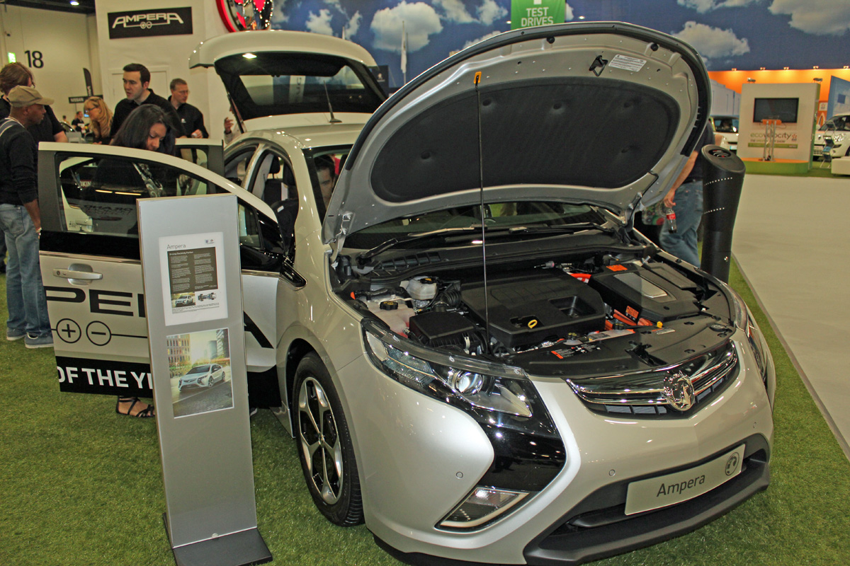 Vauxhall Ampera at EcoVelocity 2012 (Photo: T. Larkum)