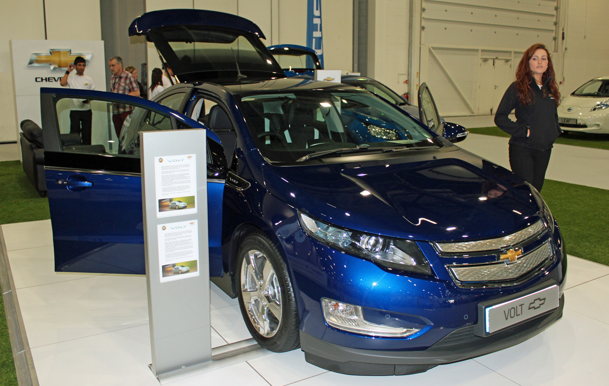 Chevrolet Volt at EcoVelocity 2012 (Photo: T. Larkum)