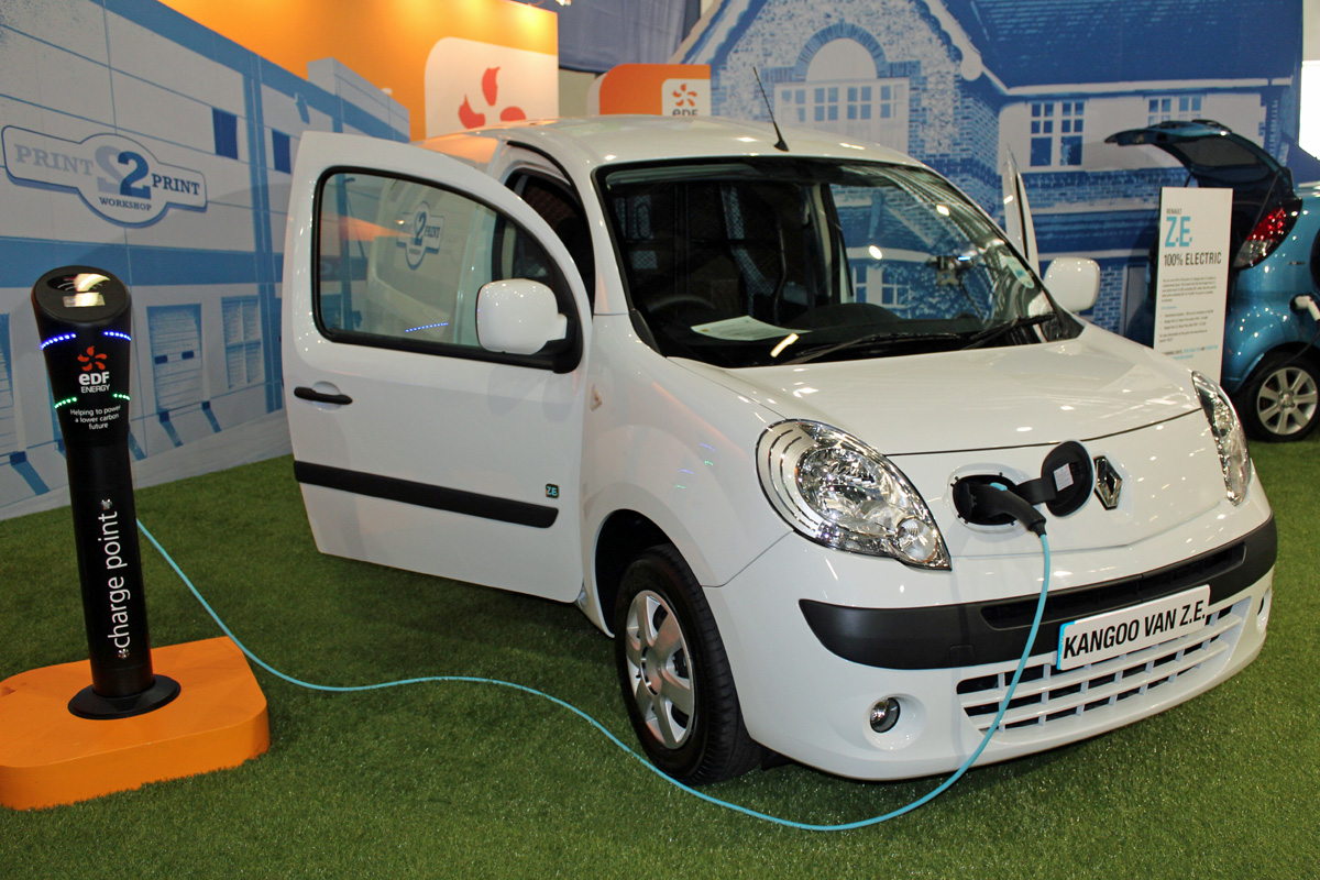 Renault Kangoo Van at EcoVelocity 2012 (Photo: T. Larkum)