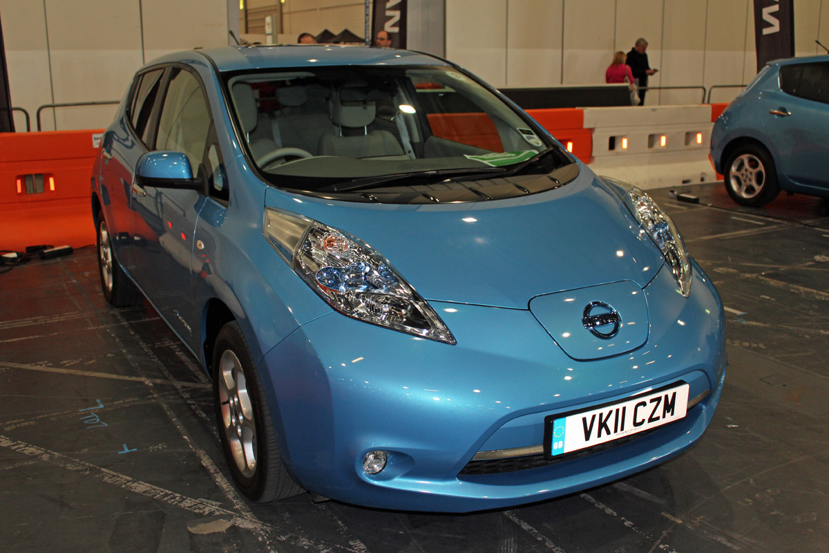 Nissan LEAF - My First EV Test Drive (Photo: T. Larkum)