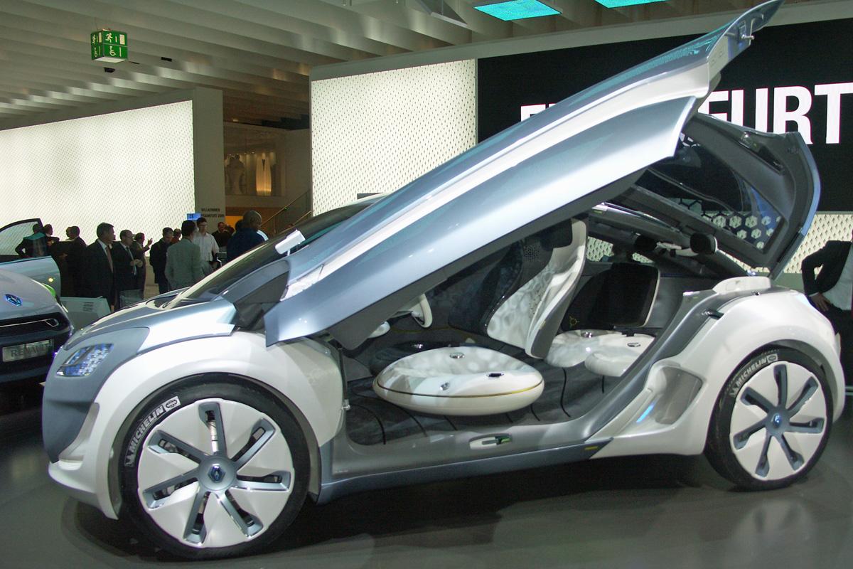 Zoe Z.E. Concept at the Frankfurt Motor Show (Image: Umberto)