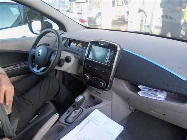 Interior, with R-Link Multimedia System