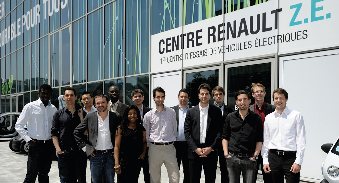 Start-Up Company Personnel (Image: Renault)