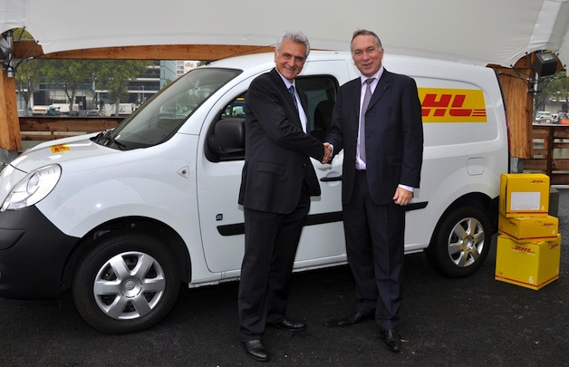 Kangoo Z.E. in DHL Livery (Image: Renault)
