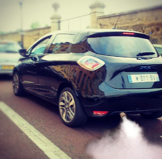Zoe Exhaust System (Image: M. Pilami/Renault-Zoe.forumpro.fr)
