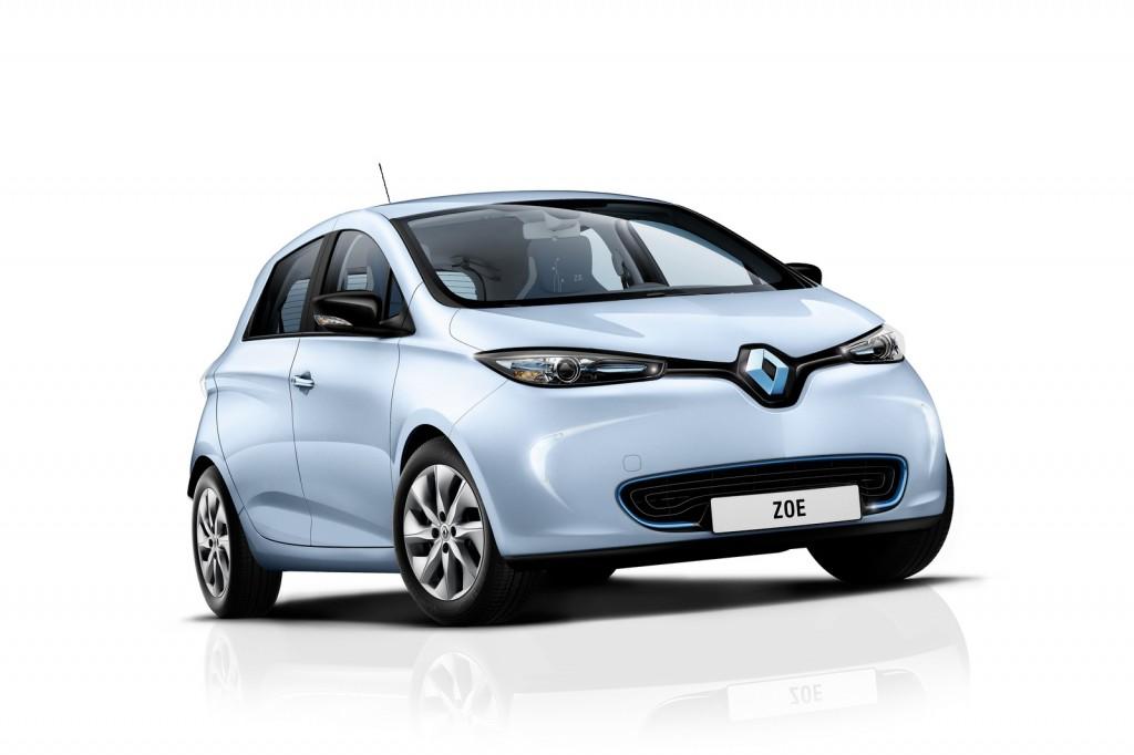 Zoe in Azure Blue (Image: Renault)