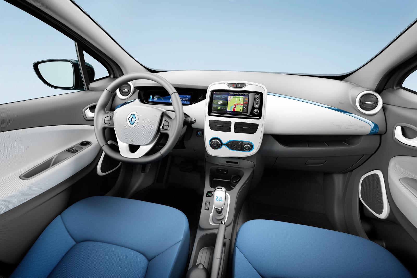 Zoe Expression / Life Interior Trim (Image: Renault)