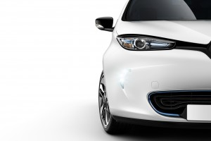 Zoe Daytime Running Lights On (Image: Renault)