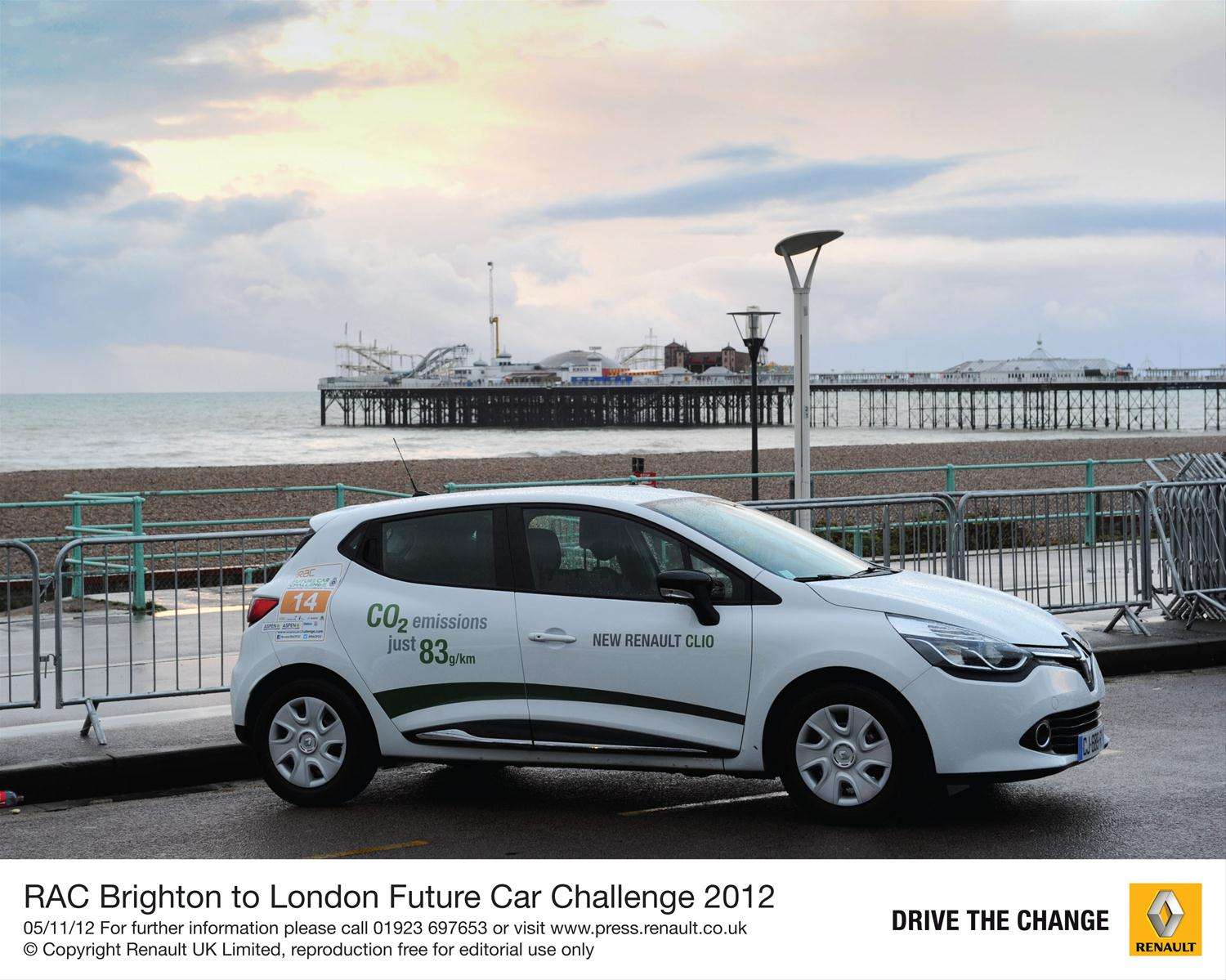 Renault Clio in Future Car Challenge
