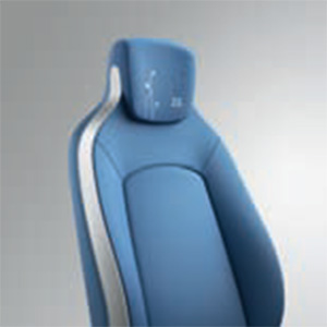 Blue Upholstery Fabric (Image: Renault)