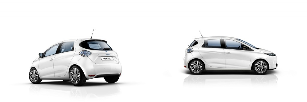 Zoe in Arctic White (Image: Renault)