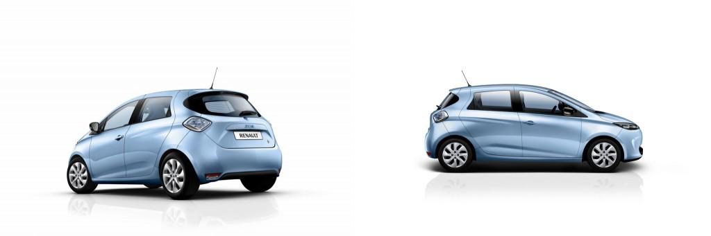 Zoe in Energy Blue (Image: Renault)