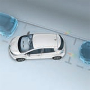 Zoe Rear Parking Sensors (Image: Renault)