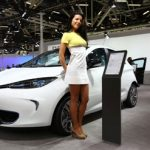 Zoe at Bologna Motor Show