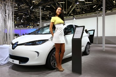 Zoe at Bologna Motor Show (Image: Renault)