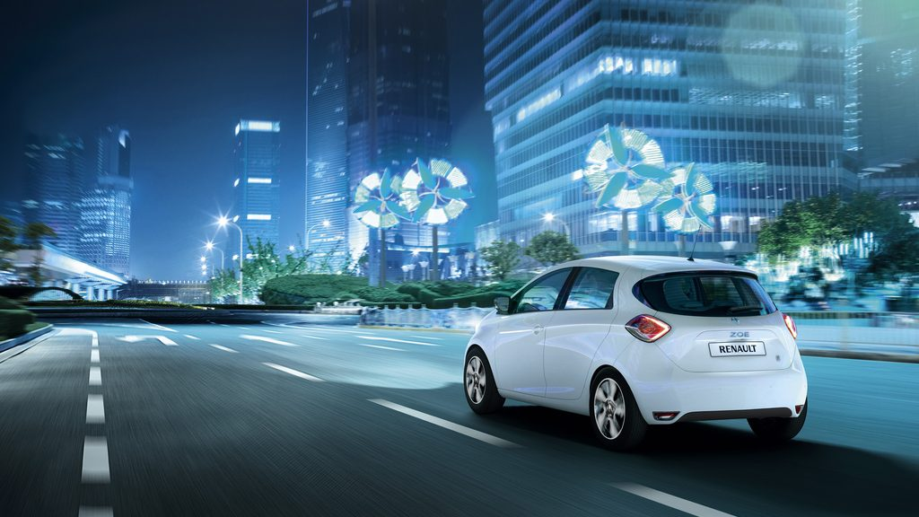 Zoe Launch is Receding (Image: Renault)