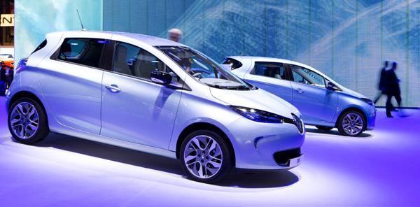 Renault Zoe Wows Paris Motor Show