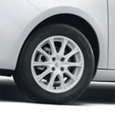 "Zoe 15"" White Alloy Wheel Accessory (Image: Renault)"