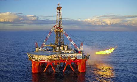 Offshore Oil Rig (Image: R. Garvey/Corbis)