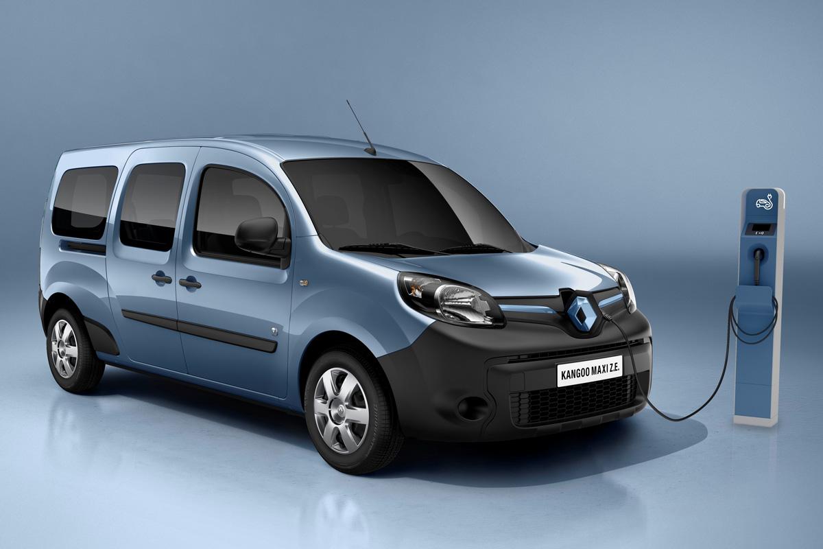 New Kangoo Maxi ZE Van (Image: Renault)