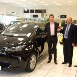 French Member of Parliament Gets Keys to New Renault Zoe