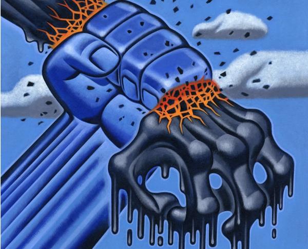 Fossil Fuel Resistance (Image: D. Fraser)