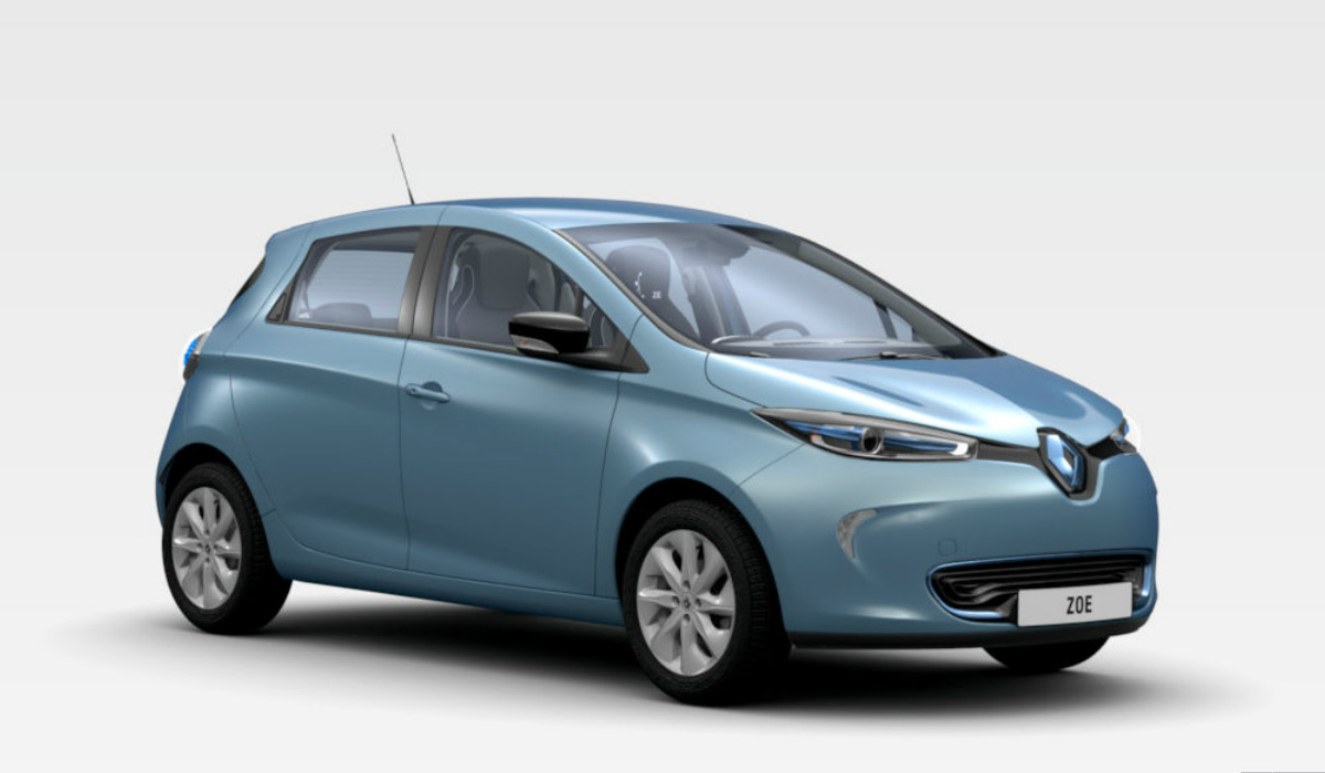 "My Personal Renault ZOE: Energy Blue Intens with 16"" Alloy Wheels (Image: Renault.it)"