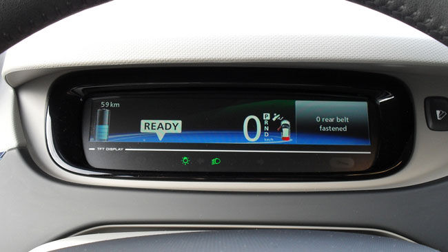ZOE Display with Selector Button, left-hand drive version (Image: TheRegister)