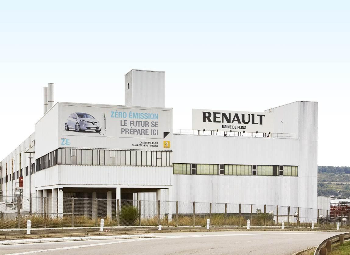 Flins Production Plant (Image: Renault)