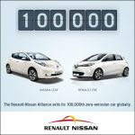 Renault-Nissan sells its 100,000th Zero-Emission car