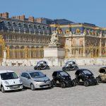 Renault makes a silent arrival at the château de Versailles