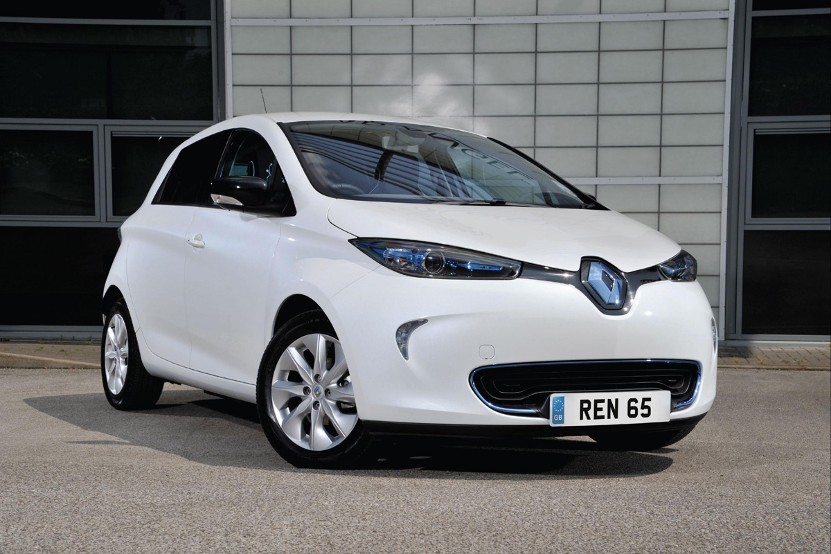 ZOE wins Green Award at 'Businesscar Techies' (Image: Renault)