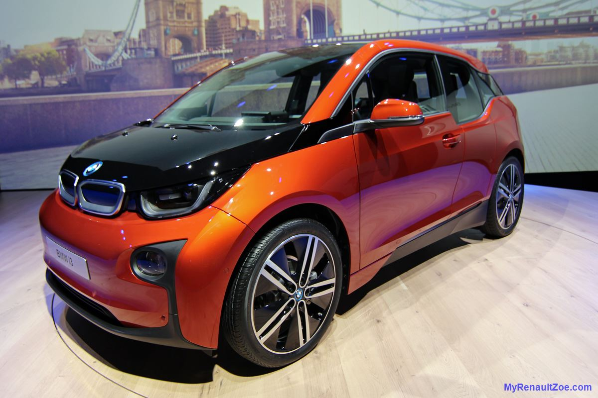 BMW i3 at Launch (Image: T. Larkum)