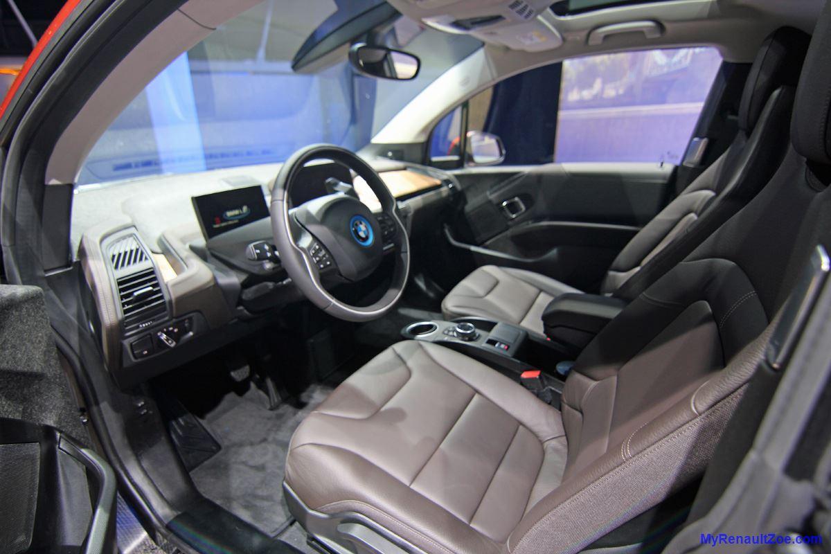 BMW i3 – Driver's Position (Image: T. Larkum)