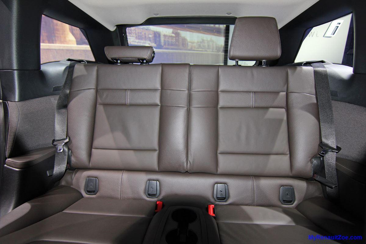 BMW i3 – Rear Passengers' Area (Image: T. Larkum)