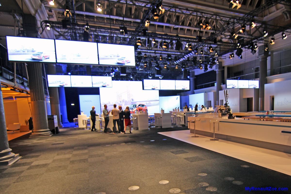 BMW i3 Launch Venue, at closing time (Image: T. Larkum)