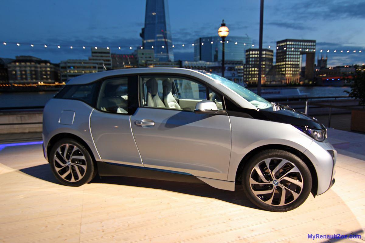 BMW i3 at Launch (Image: T. Larkum)