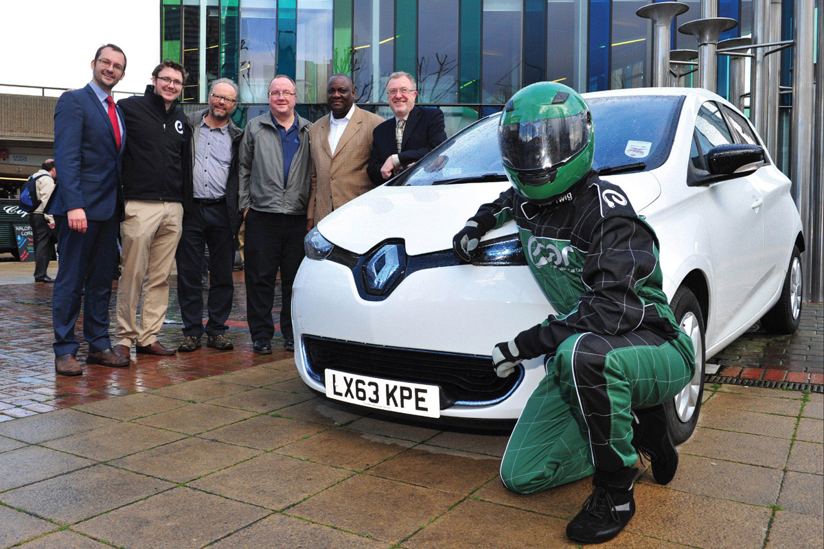 ZOE and celebrities (Image: Renault)