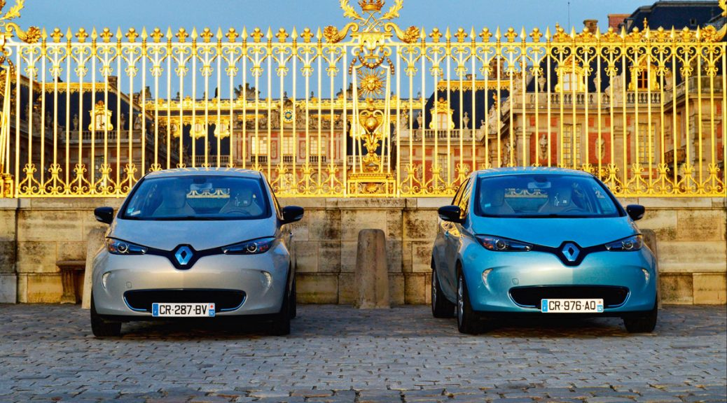 A royal birthday for ZOE (Image: Renault)