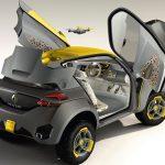 Renault unveils KWID concept at Delhi Auto Expo
