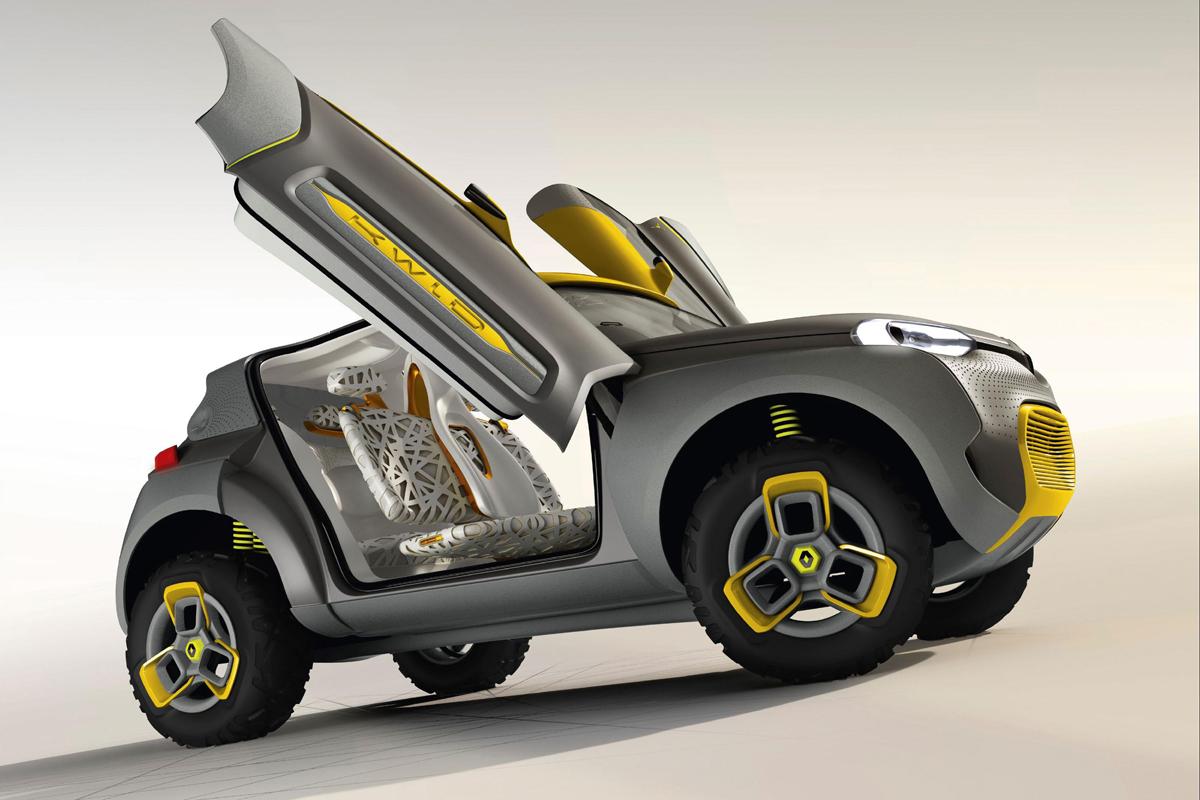 Renault KWID Concept Car (Image: Renault)