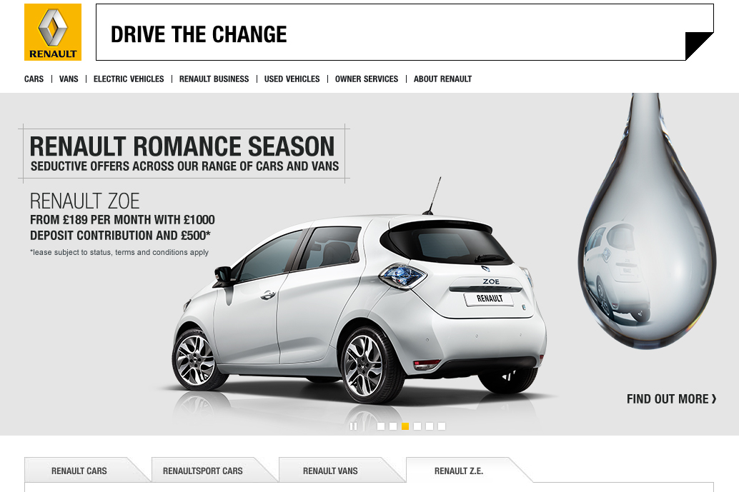 Restart Your Heart With Loveable Renault Savings My Renault Zoe